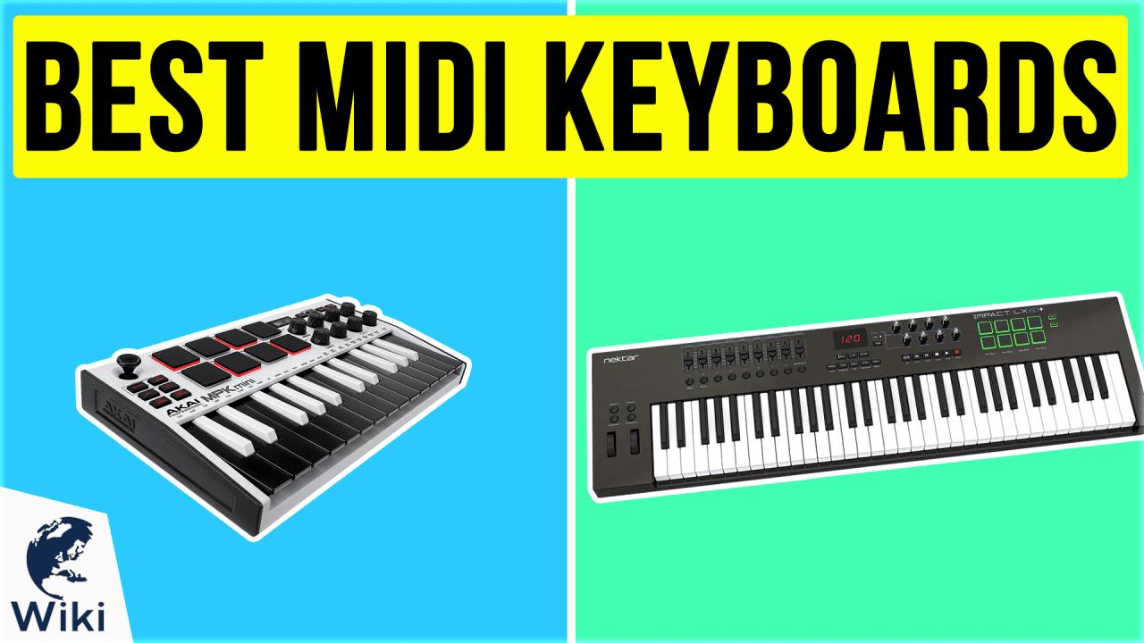 10 Best MIDI Keyboards
