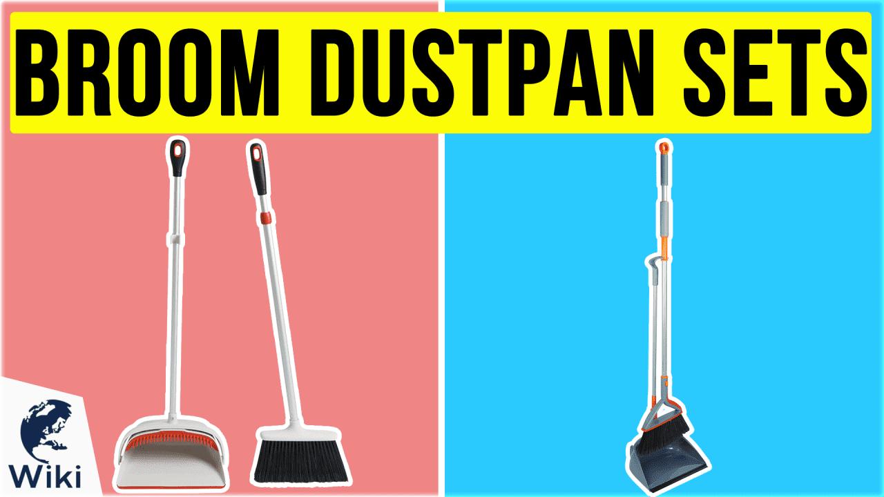 10 Best Broom Dustpan Sets