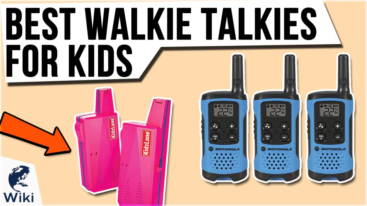 10 Best Walkie Talkies For Kids