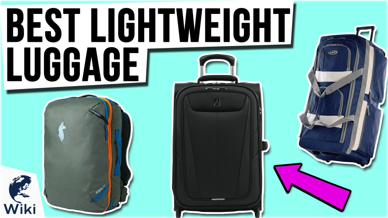 10 Best Lightweight Luggage