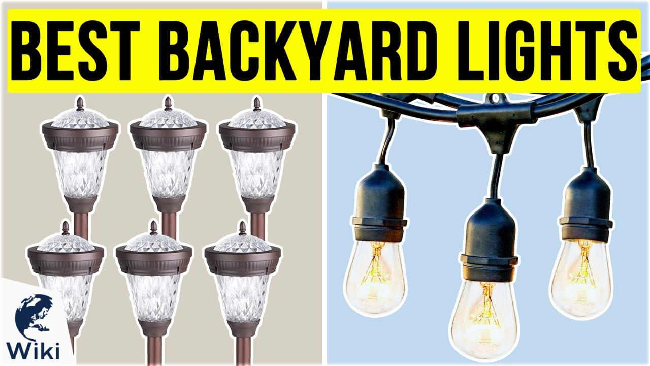 10 Best Backyard Lights