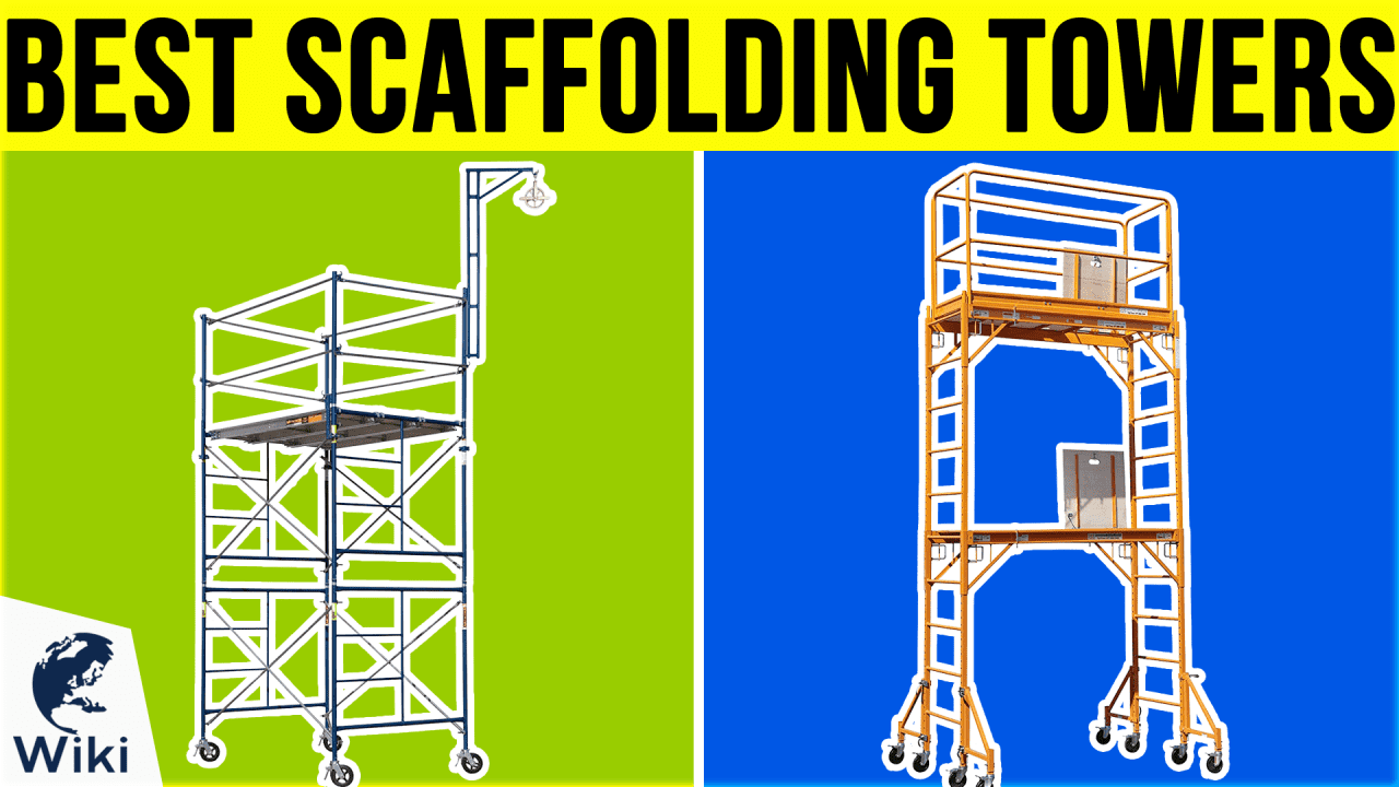 10 Best Scaffolding Towers