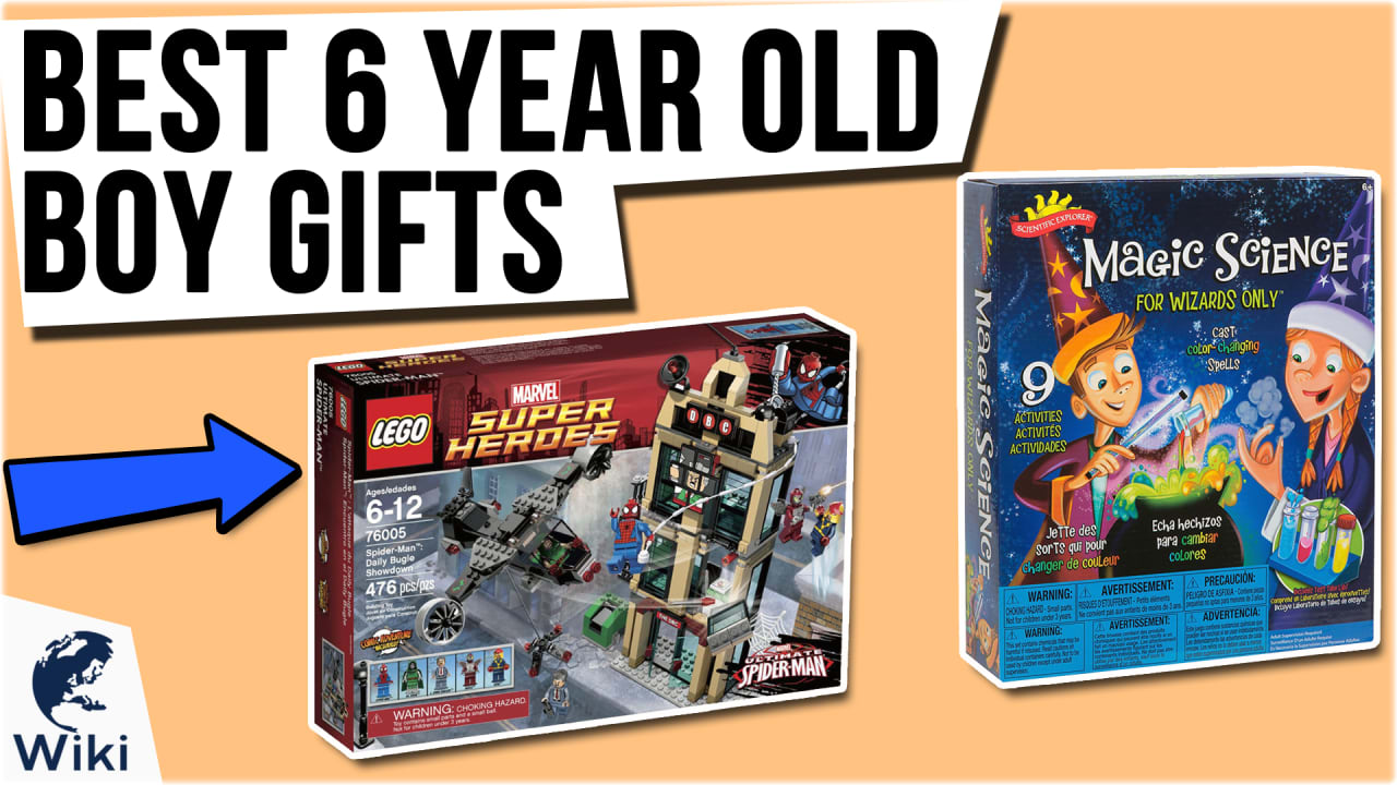 10 Best 6 Year Old Boy Gifts