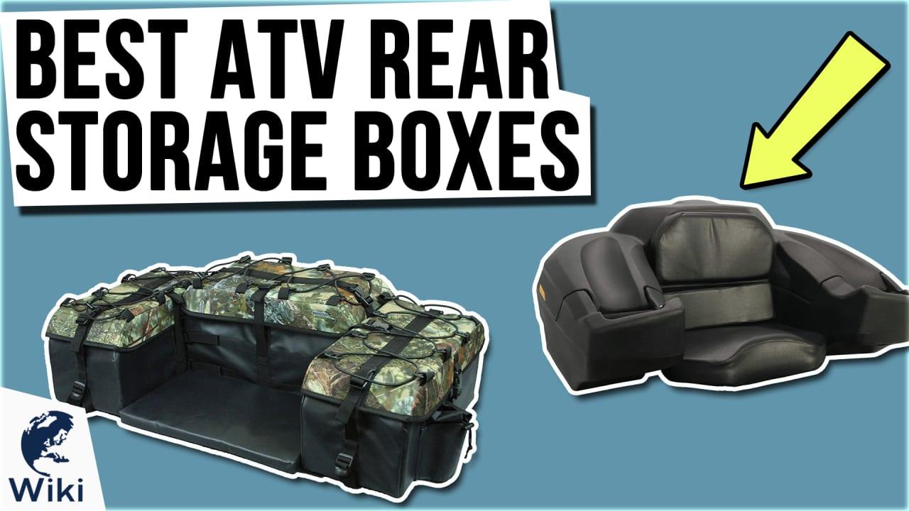 8 Best ATV Rear Storage Boxes