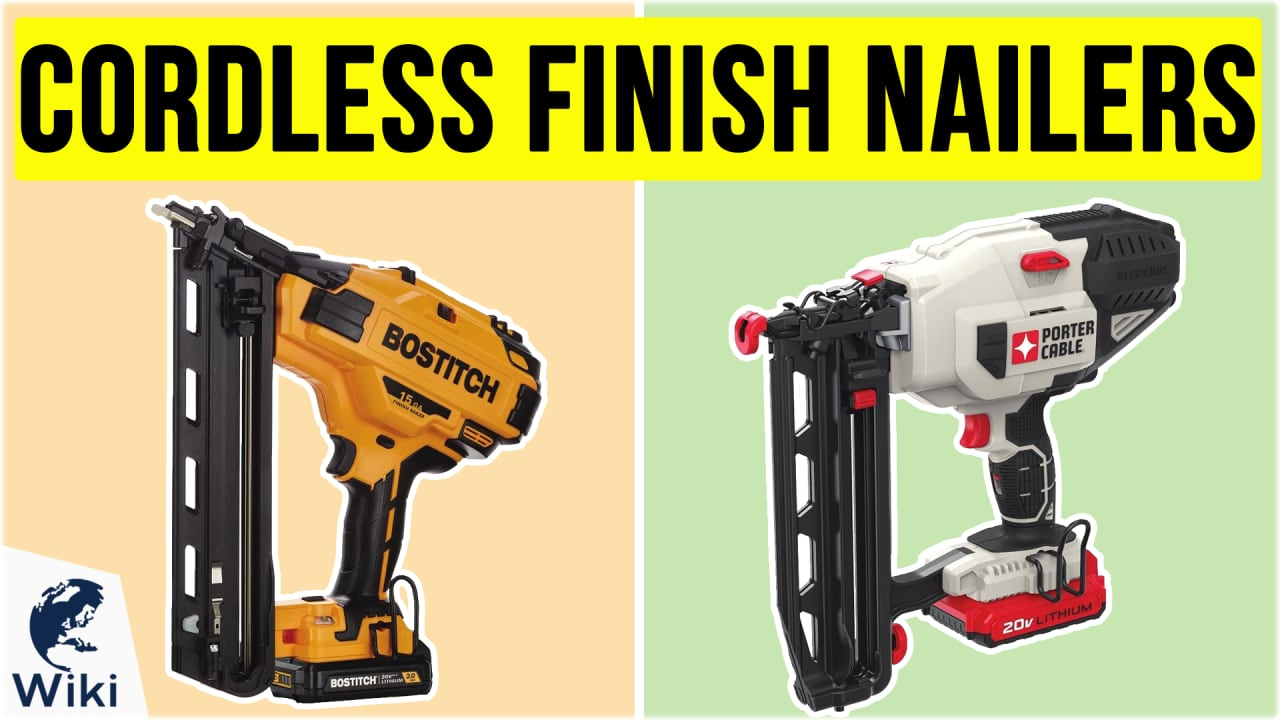 7 Best Cordless Finish Nailers