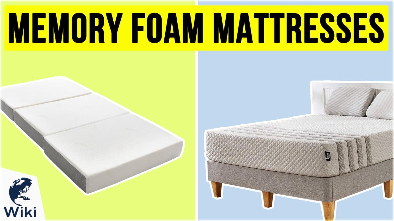10 Best Memory Foam Mattresses