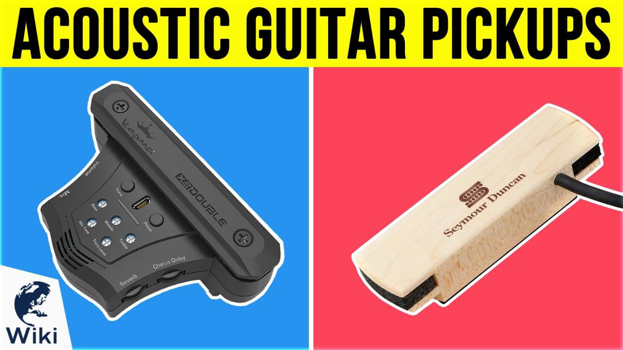 8 Best Acoustic Guitar Pickups
