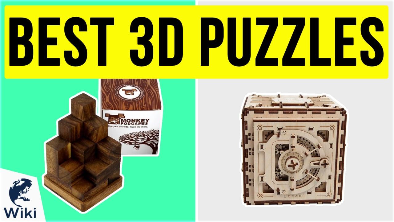 10 Best 3D Puzzles