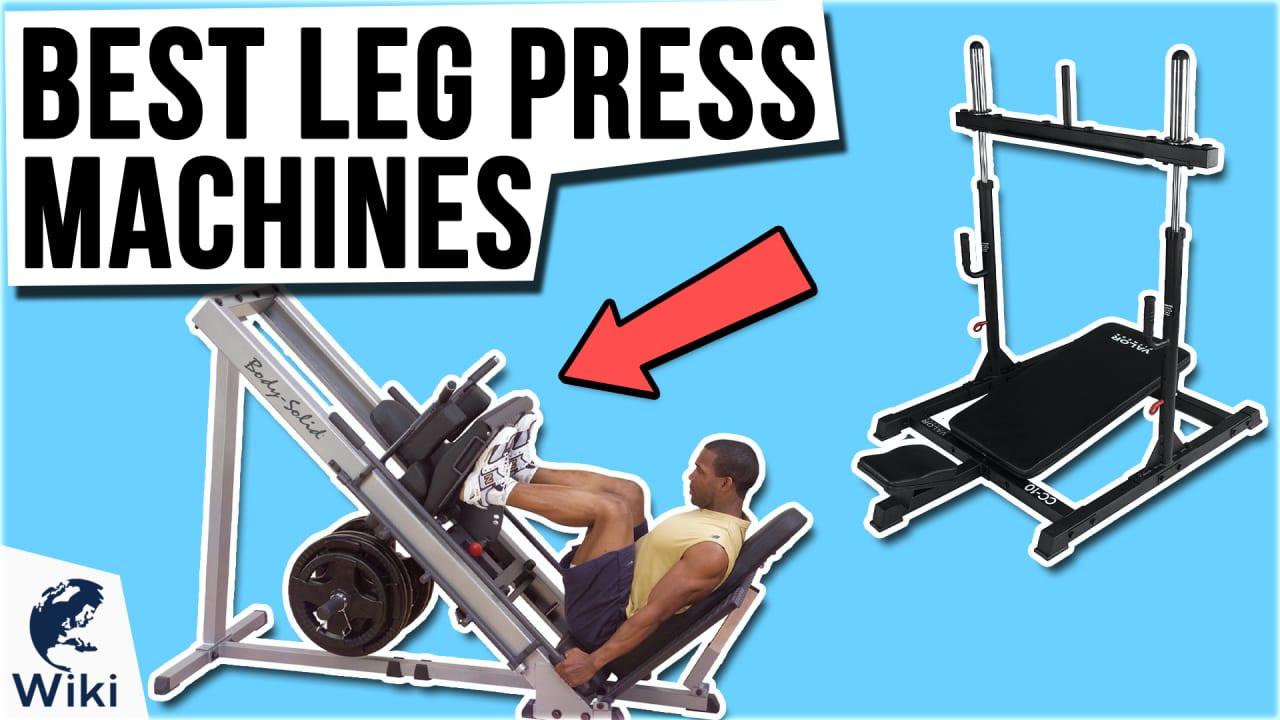7 Best Leg Press Machines