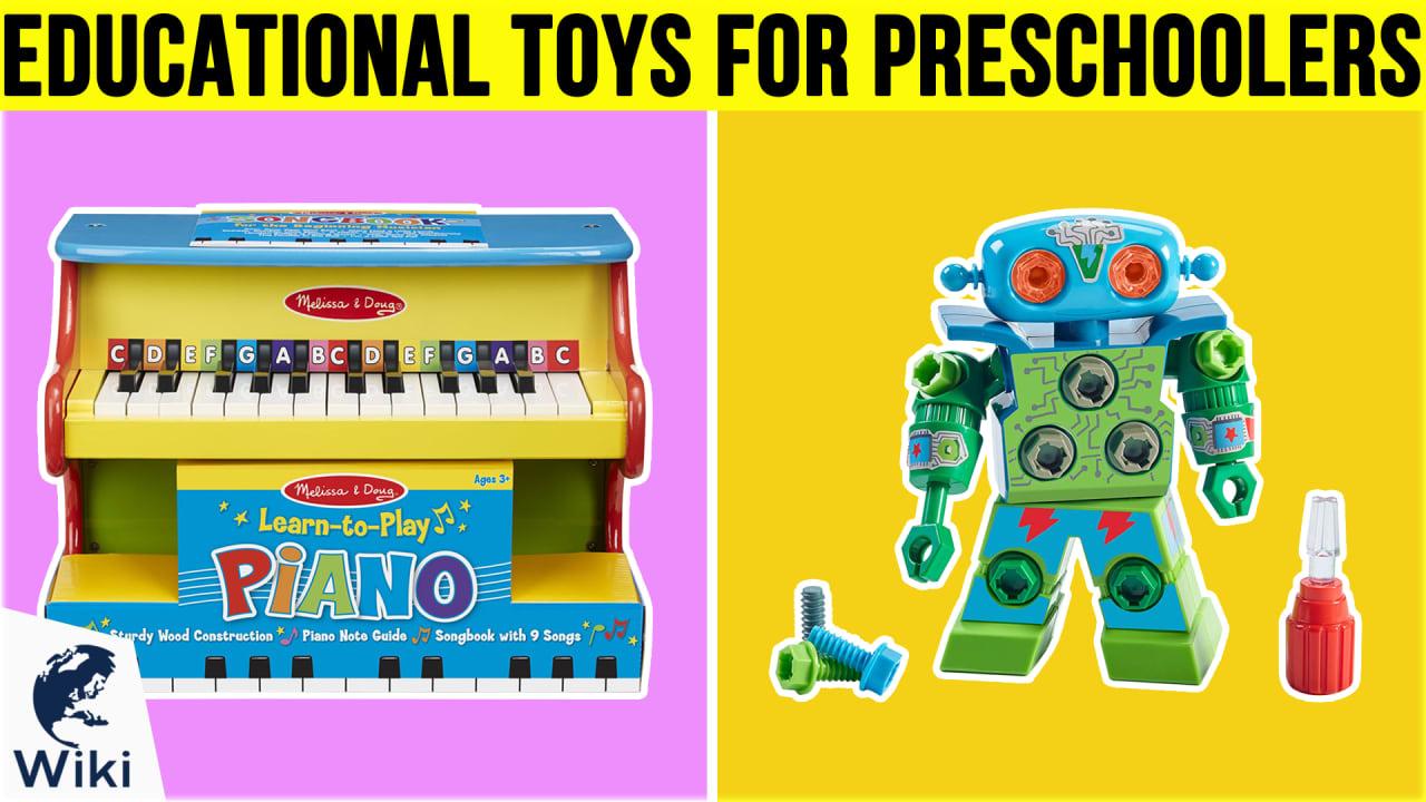 10 Best Educational Toys For Preschoolers