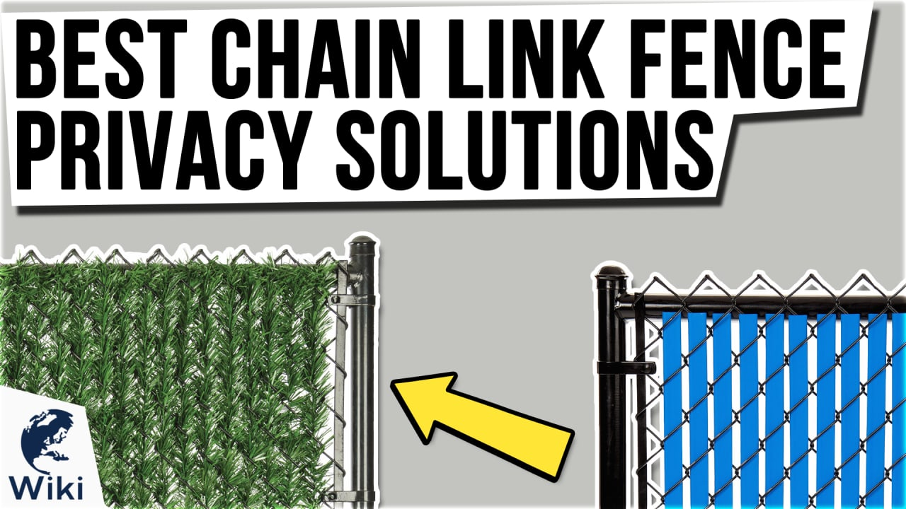 10 Best Chain Link Fence Privacy Solutions