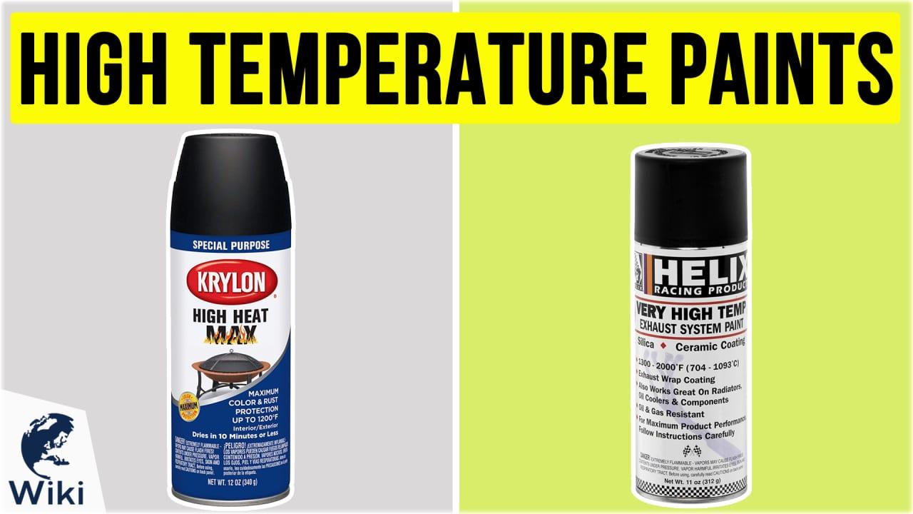 10 Best High Temperature Paints