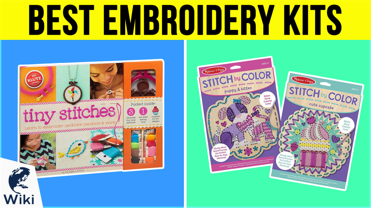 10 Best Embroidery Kits