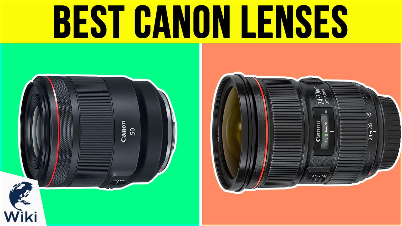 10 Best Canon Lenses