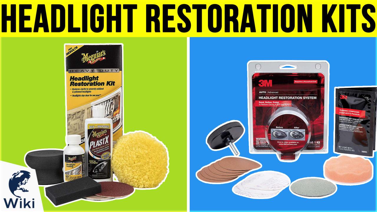 10 Best Headlight Restoration Kits