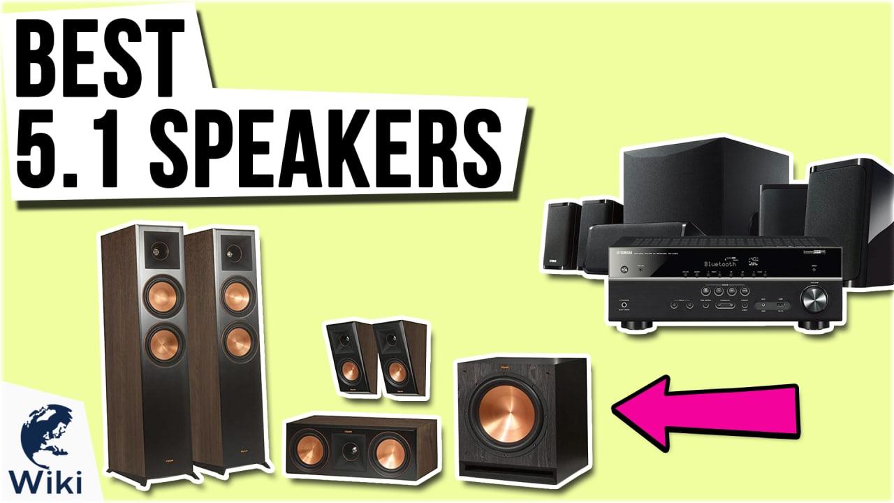10 Best 5.1 Speakers