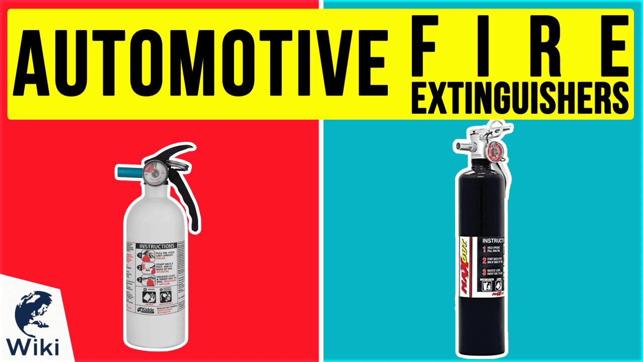 8 Best Automotive Fire Extinguishers