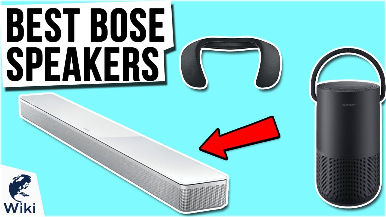 10 Best Bose Speakers