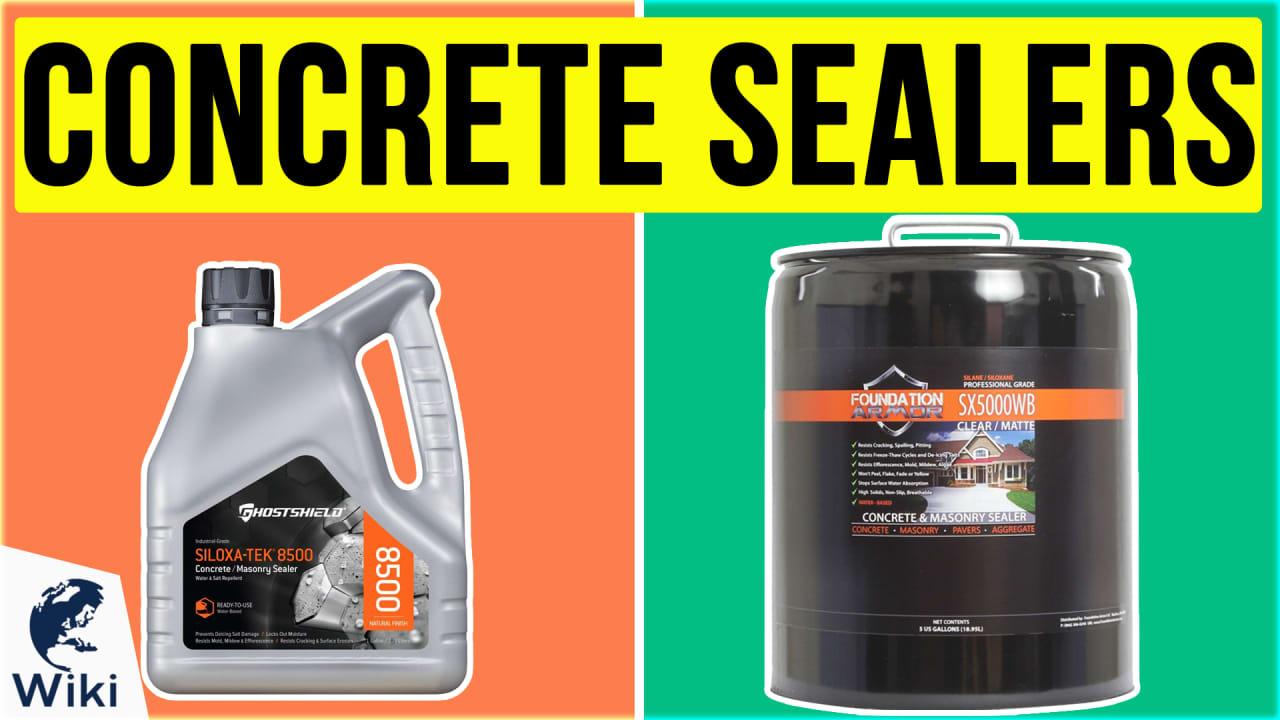 10 Best Concrete Sealers