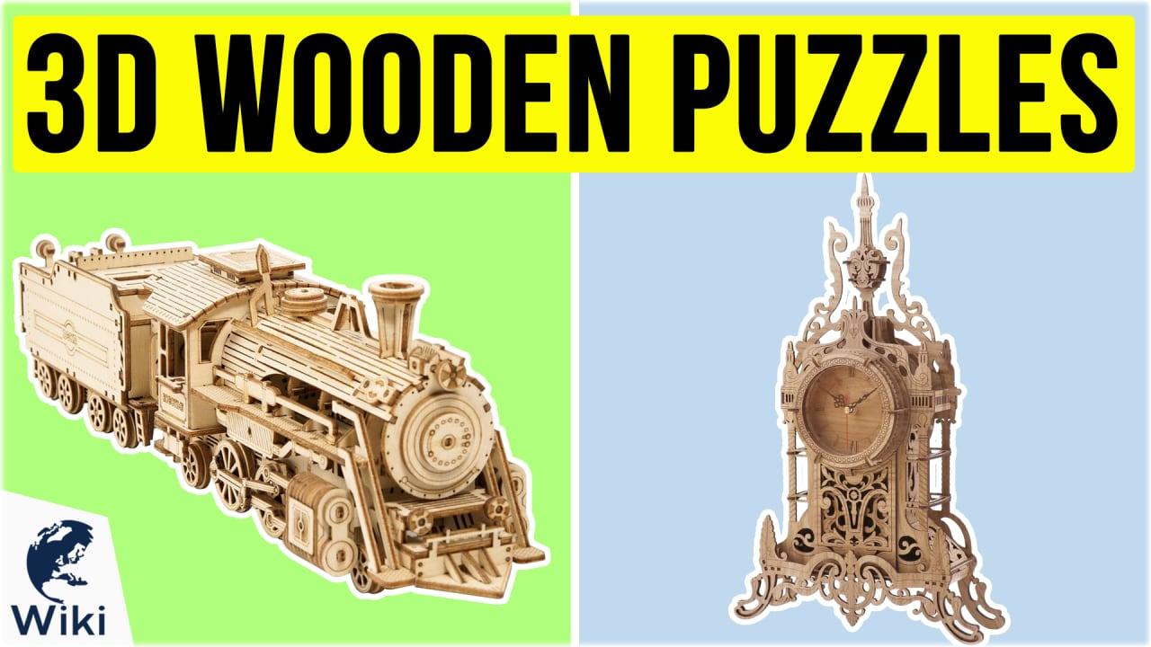 10 Best 3D Wooden Puzzles