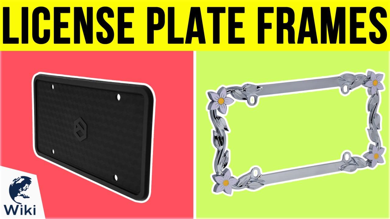 10 Best License Plate Frames