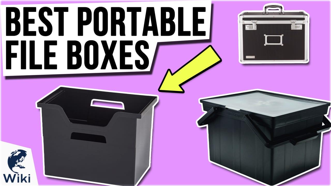 10 Best Portable File Boxes