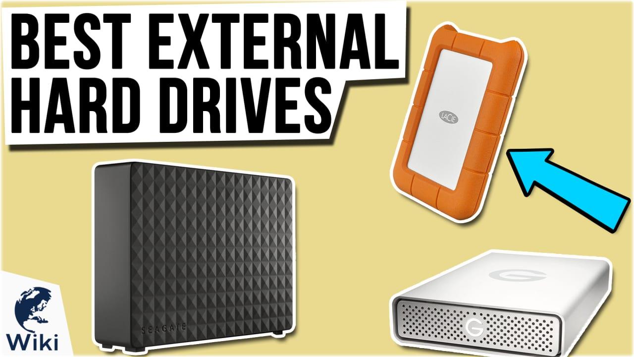 8 Best External Hard Drives