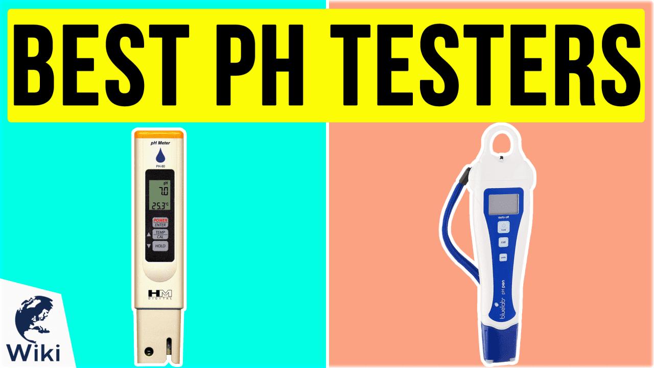 10 Best pH Testers