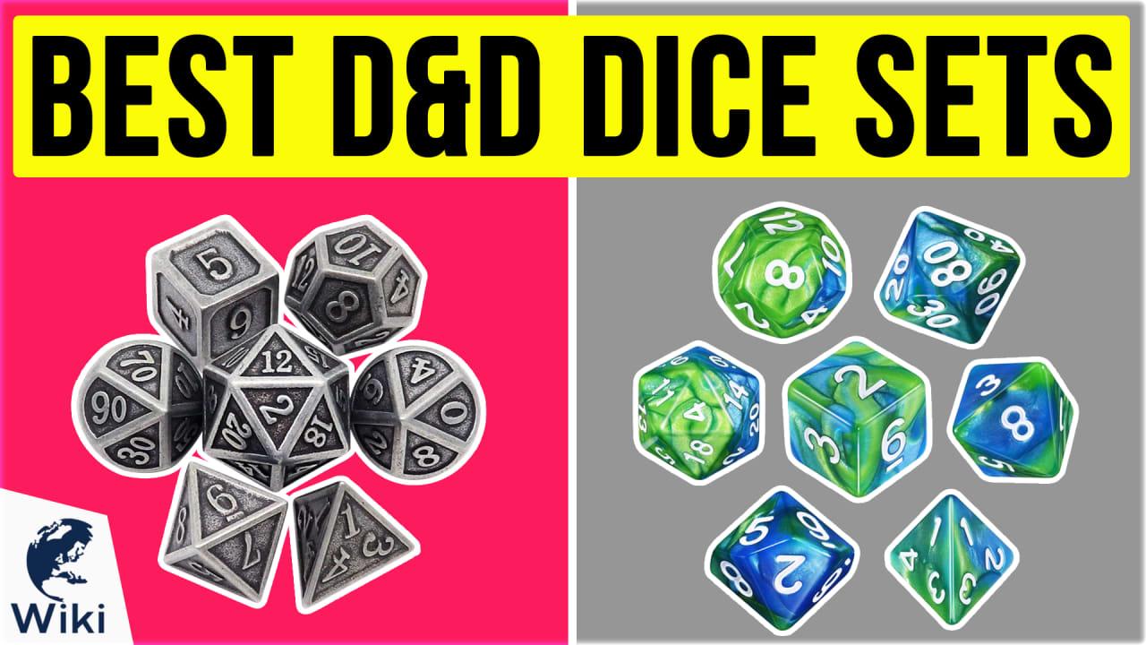 10 Best D&D Dice Sets