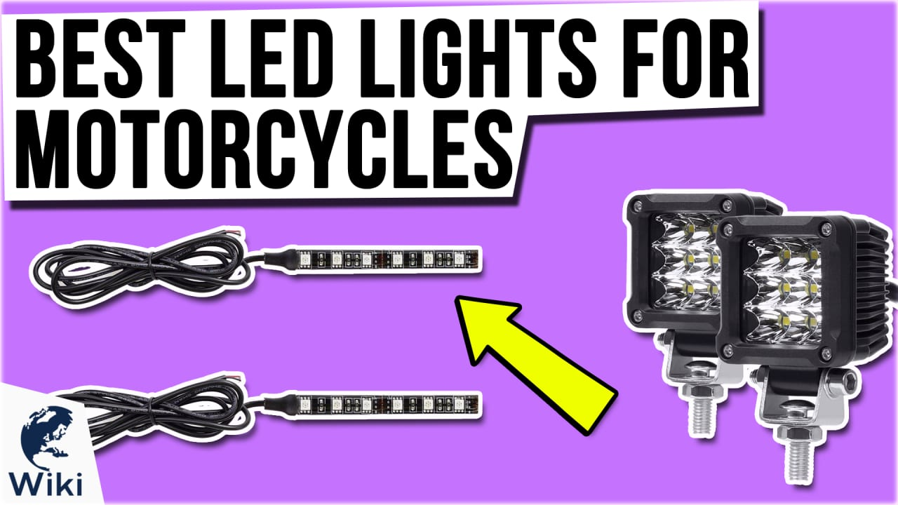 10 Best LED Lights For Motorcycles