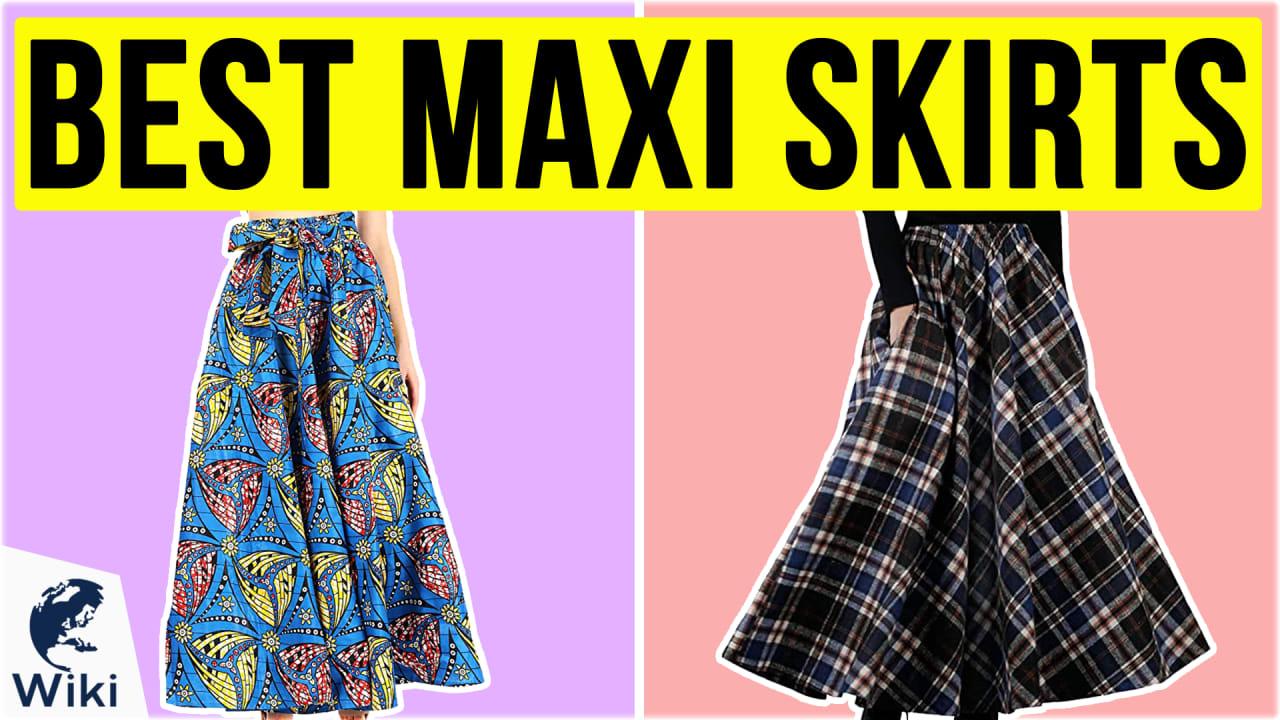 10 Best Maxi Skirts