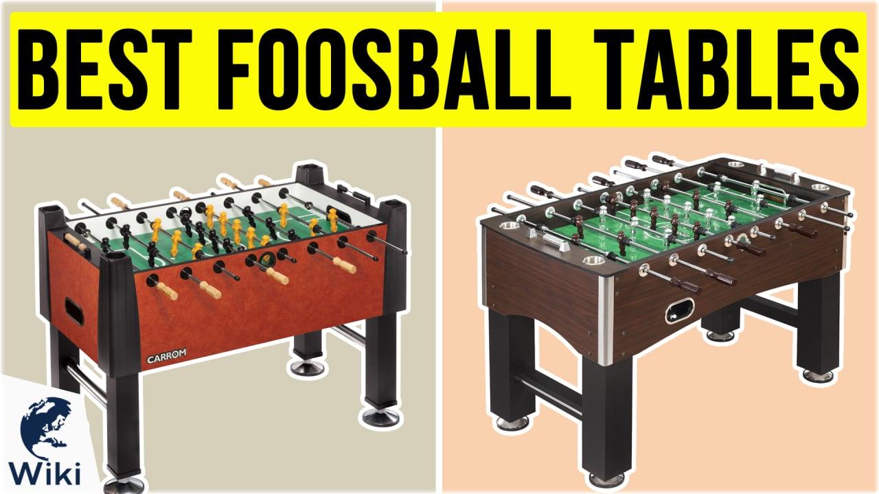 10 Best Foosball Tables