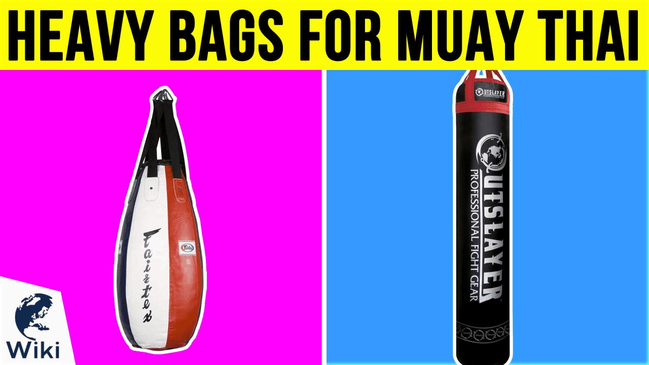 10 Best Heavy Bags For Muay Thai