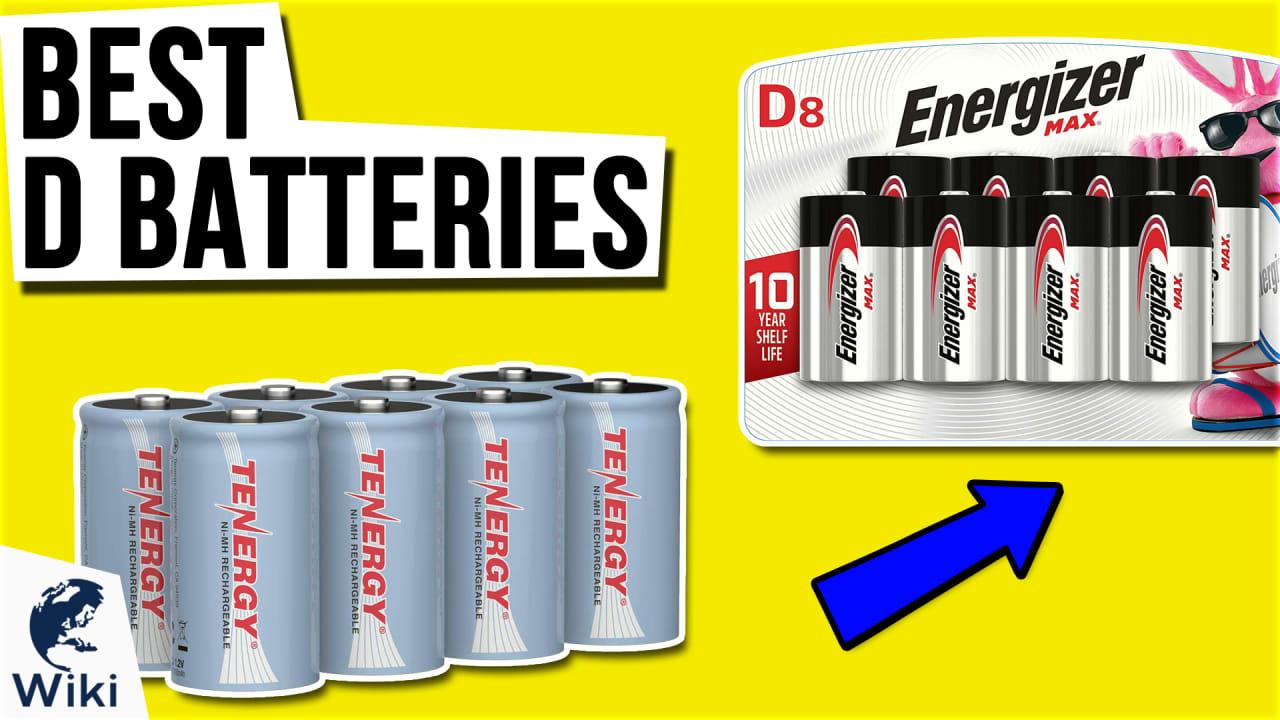 9 Best D Batteries