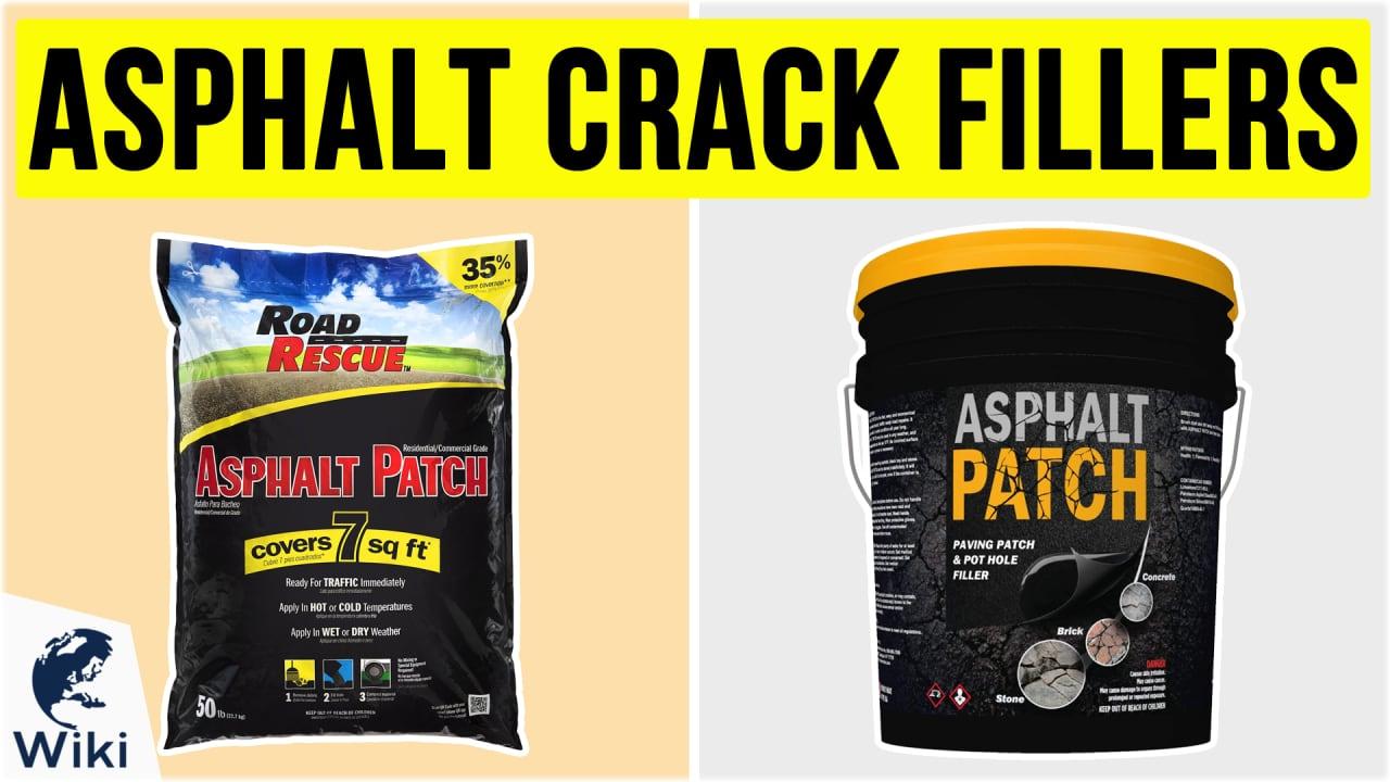 10 Best Asphalt Crack Fillers