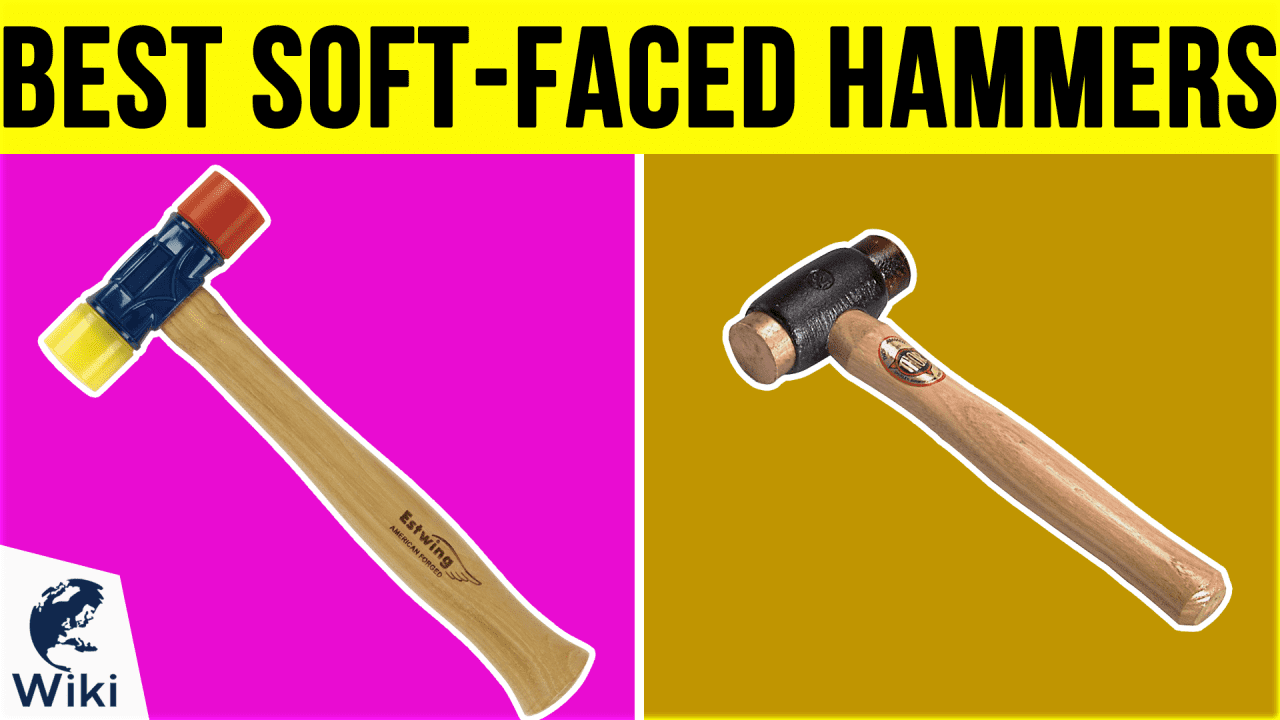 6 Best Soft-Faced Hammers