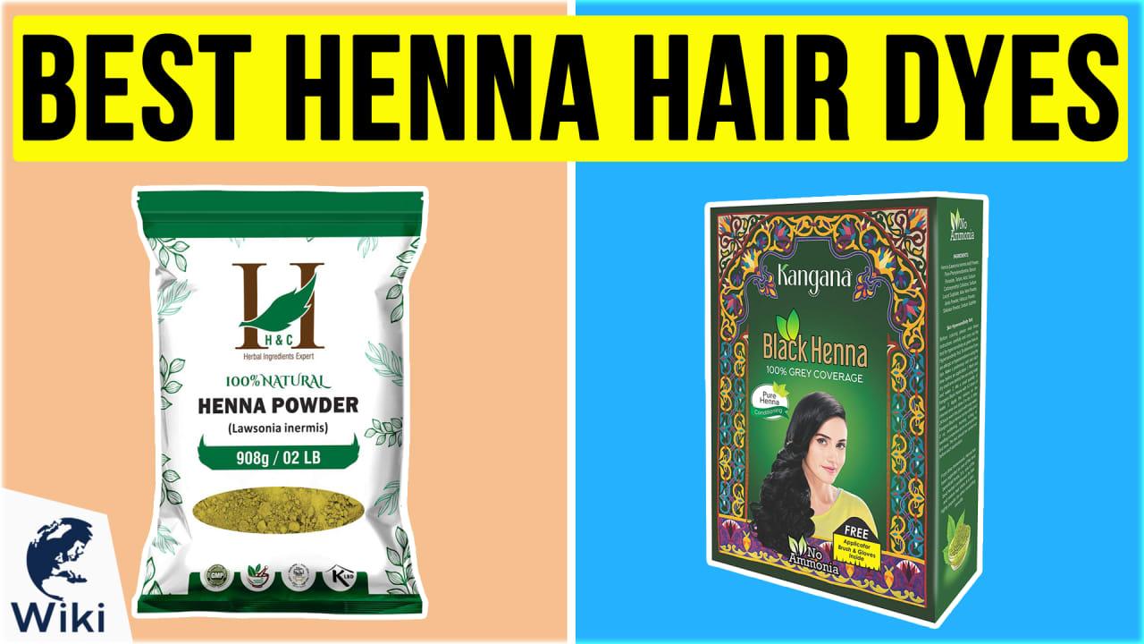 10 Best Henna Hair Dyes