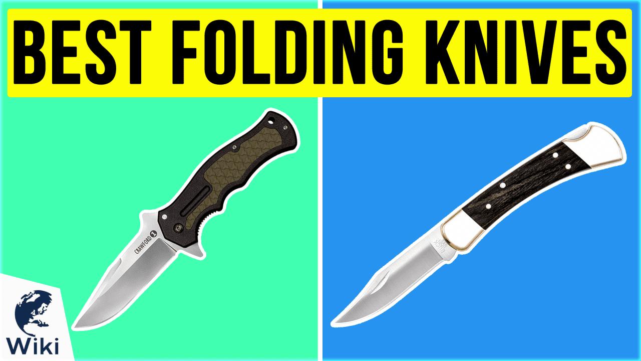 10 Best Folding Knives