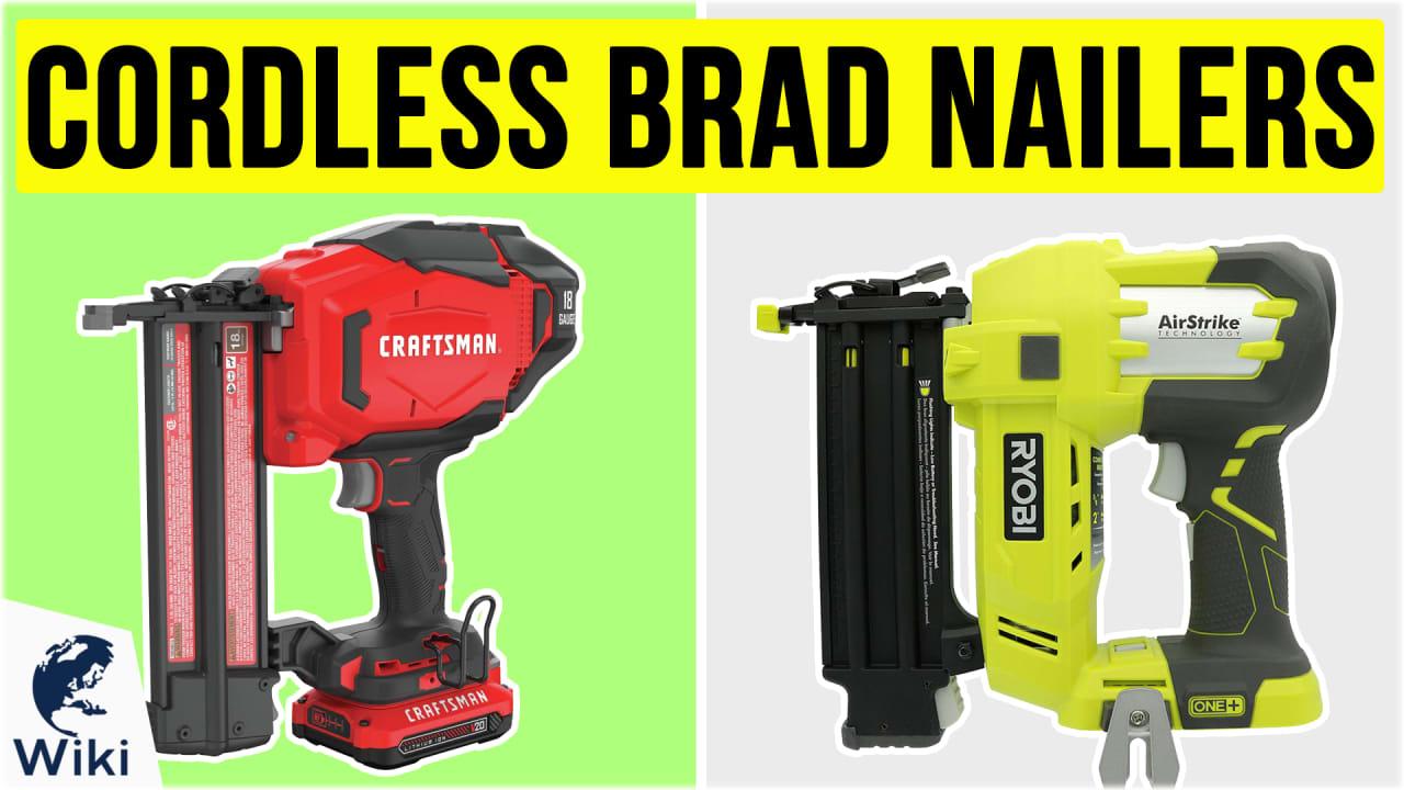 9 Best Cordless Brad Nailers