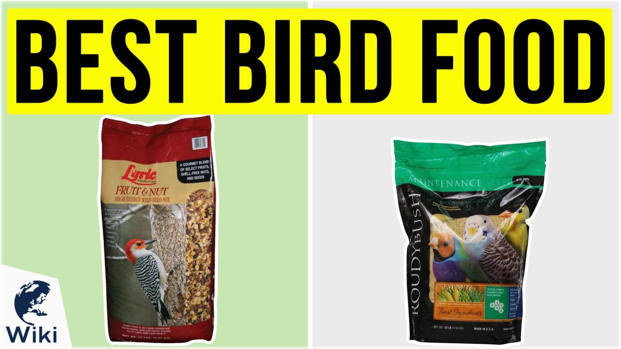 10 Best Bird Food