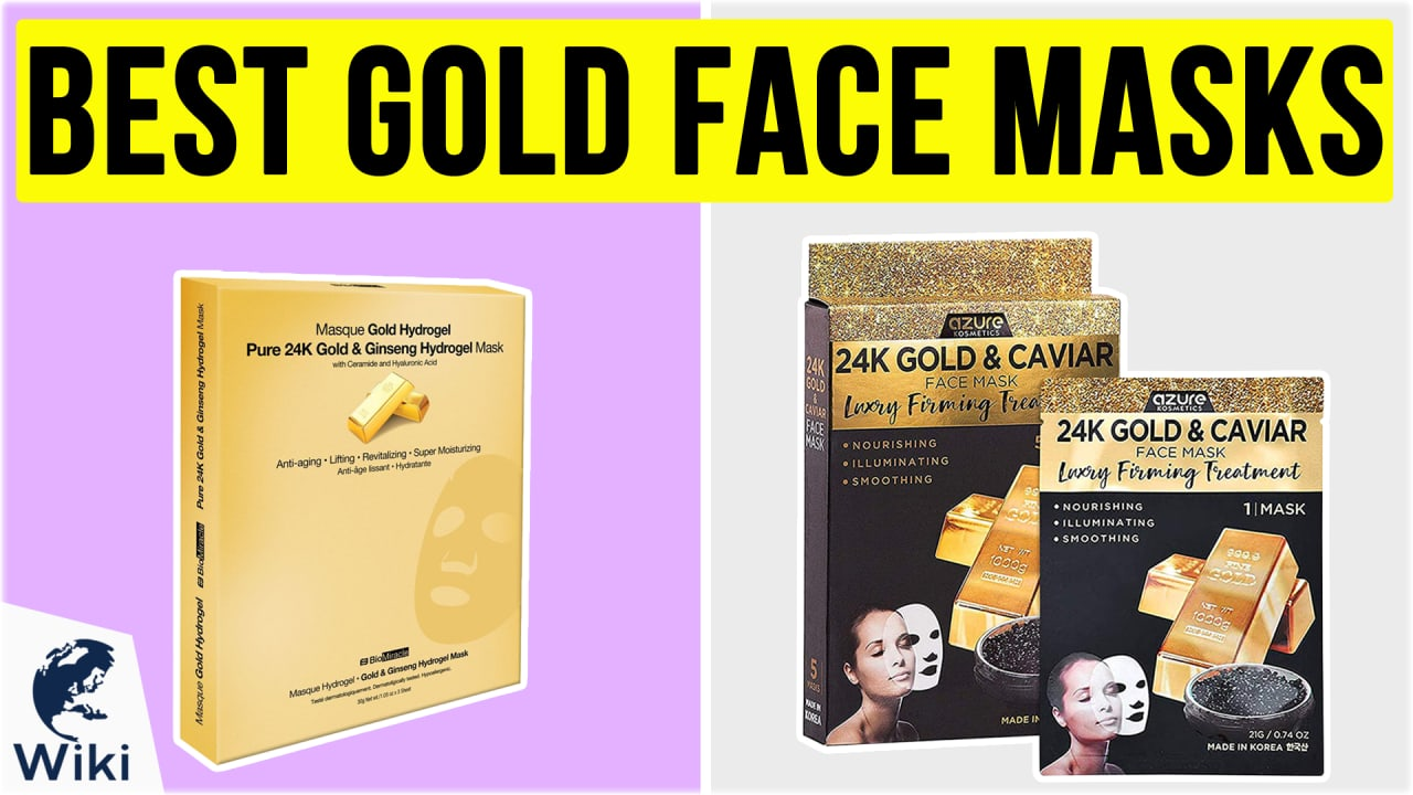 10 Best Gold Face Masks