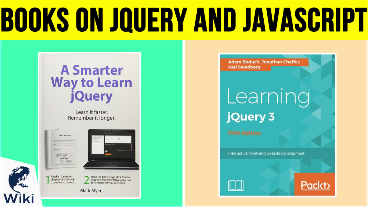 10 Best Books On jQuery and Javascript
