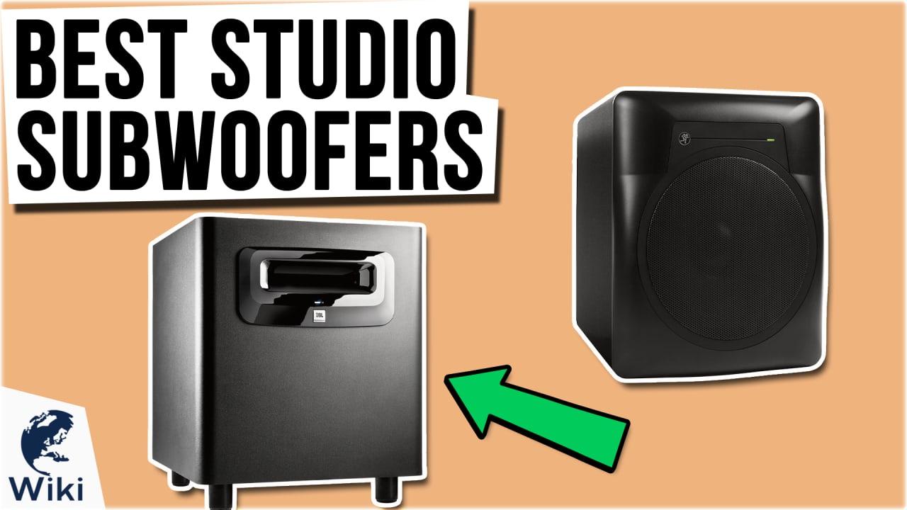 8 Best Studio Subwoofers