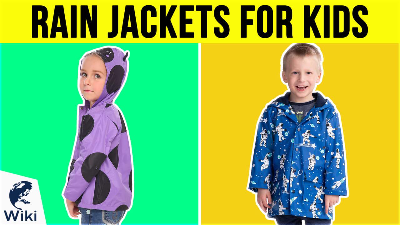10 Best Rain Jackets For Kids