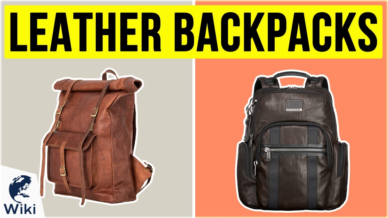 10 Best Leather Backpacks