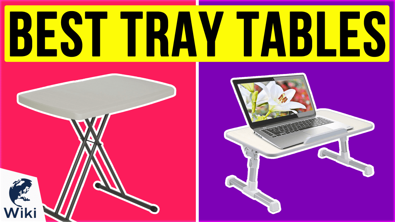 10 Best Tray Tables