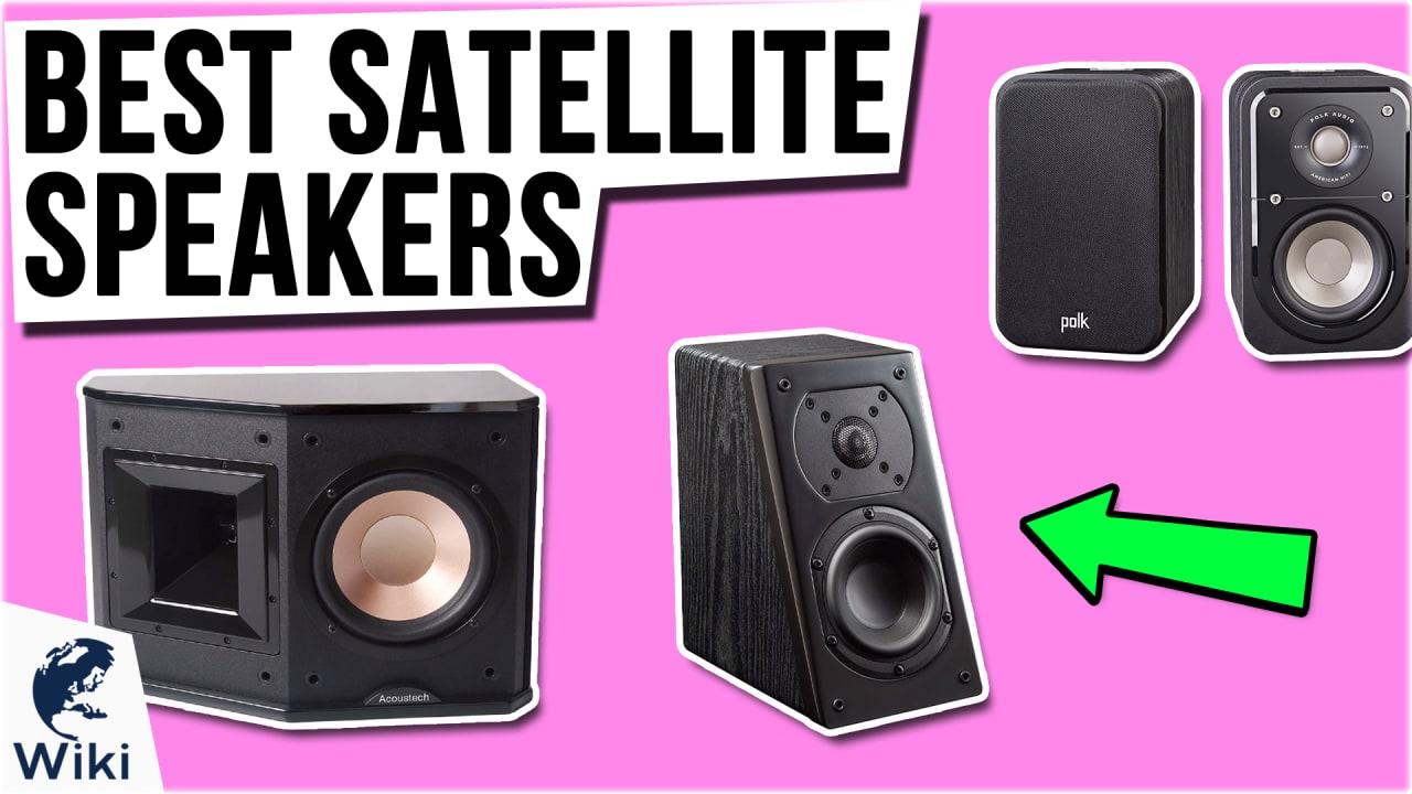 10 Best Satellite Speakers
