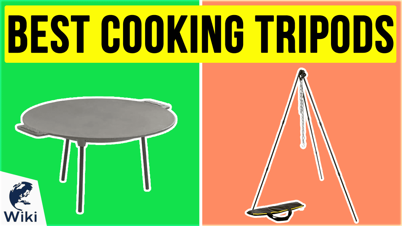 10 Best Cooking Tripods