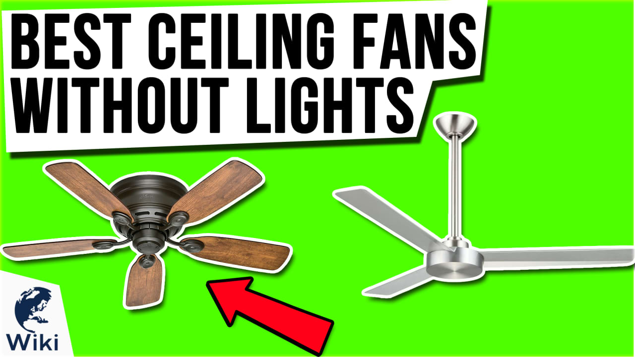 10 Best Ceiling Fans Without Lights