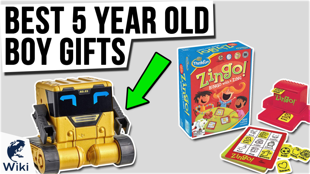 10 Best 5 Year Old Boy Gifts